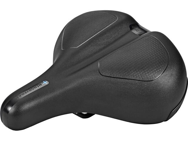 BBB ComfortPlus Upright BSD-106 Siodełko Mężczyźni czarny